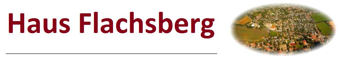 Ferienwohnung Haus Flachsberg